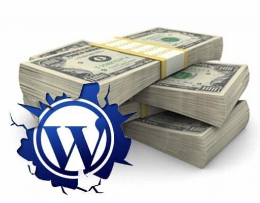 earn money from wordpress website